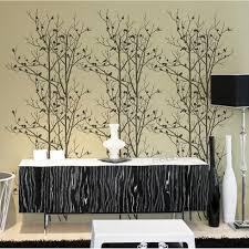 birds in trees wall stencil stencils stencil designs large