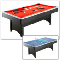 Ping Pong Pool Table Hathaway Games Maverick 7 Ft Pool Table W Table Tennis Walmart