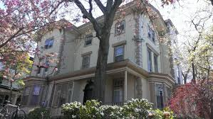 the picturesque style italianate architecture pine street