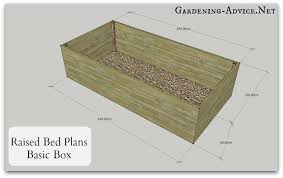 Planning A Raised Bed Vegetable Garden by Easy To Build Raised Bed Garden Plans