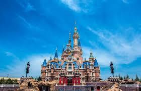 the enchanted storybook castle shanghai disneyland disney