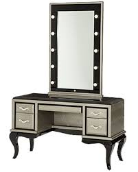 Vanity Desk After Eight Vanity Desk U0026 Mirror In Titanium Ai 19000vm2 16