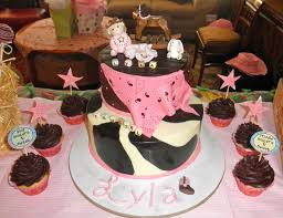cowgirl baby shower cake ideas baby shower decoration