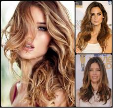 hairstyle colours for long hair ombre highlights archives