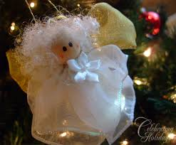 Angel Bells Diy Christmas Ornament Craft Celebrating Holidays