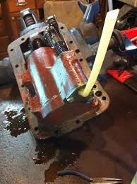 74 ford 3000 3 point hydraulics bleed