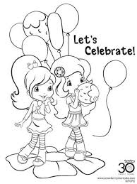 pinkalicious coloring pages free strawberry shortcake berrykins coloring pages free printable