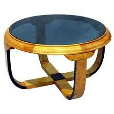 Art Deco Coffee Table by 1920 S Art Deco Cobalt Blue Mirror Lamp End Tables And Coffee