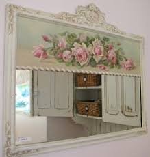 Cheap Shabby Chic Mirrors by Painted Cottage Chic Shabby Romantic Christy Rapasy Rose Canvas