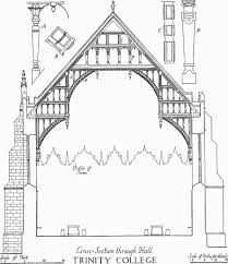 Buttress Wall Design Example Trinity College British History Online