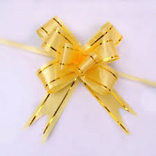 pull ribbon 10pcs lot christmas gift packing pull bow ribbons decorative