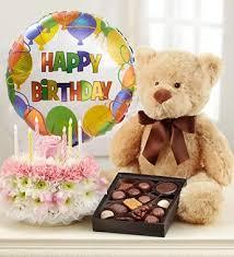 birthday flower cake birthday flower cake pastel with happy birthday balloon