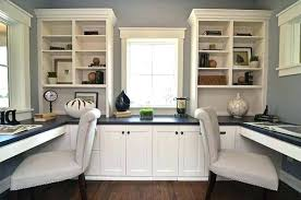 Home Office With Two Desks Home Office Desk Ideas For Two Two Desk Home Office For