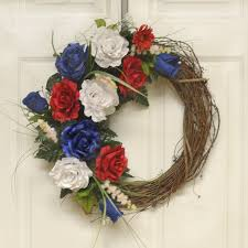 Grapevine Floral Design Home Decor The 4th Of July Decorating Ideas Silk Flowers Floral Home Decor