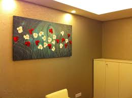 easy acrylic flower paintings on canvas google search