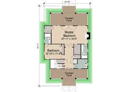 Porch Floor Plan by Porches Cottage Standard Crawlspace Foundation 2241 Sf
