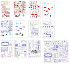 bloc autocad cuisine plan autocad d un hospice en dwg autocad and architecture
