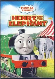 thomas friends henry elephant dvd movie