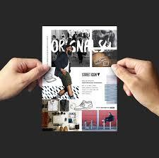 free fashion flyer template for photoshop u0026 illustrator brandpacks