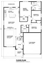 House Plans No Garage Raised Bungalow House Plans No Garage