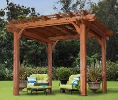 patio u0026 pergola beautiful free standing pergola with canopy