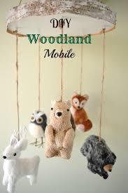 diy woodland mobile using ornaments vintagemeetsglam