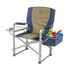 folding lawn chairs with attached side table outdoor patio