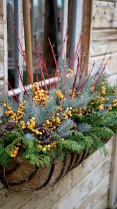 Making Christmas Decorations For Outside Best 20 Christmas Window Boxes Ideas On Pinterest Winter Window