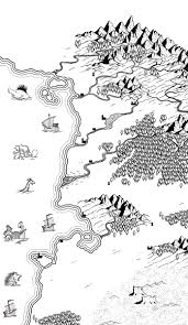 Black And White Map Another Style Coming Up White Style Work Hard And Bees
