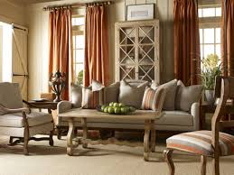 curtain rustic home decor curtains best orange living room french
