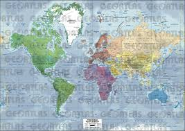 World Map Asia by Geoatlas World Maps And Globes Asia Map City Illustrator