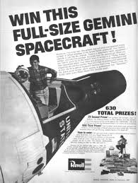 Magazine Sweepstakes Completely Ridiculous 1960s Sweepstakes Offered Gemini Spacecraft