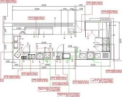 plain commercial kitchen design layout plans i intended decorating