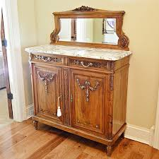 Marble Sideboards Vintage Credenzas Sideboards And Buffets Auction In Cincinnati