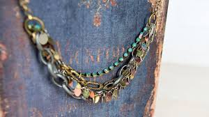 mixed metals necklace youtube