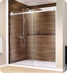 38 Shower Door Glasscrafters As 38 Ctk Acero Series Frameless Sliding Shower