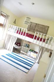 Build Loft Bed With Slide remodelaholic 15 amazing diy loft beds for kids
