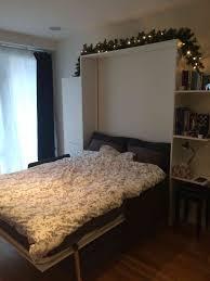 saving space diy wall bed sofa cabinet shelf combo genius