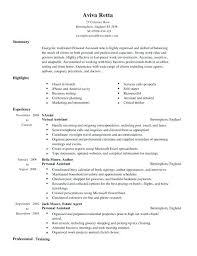 sample of personal resume chronological resume format sample
