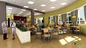 3d hospital lobby interior design rendering arch student com
