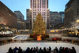 best pictures of christmas in new york including christmas lights