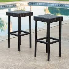 patio furniture bar stools and table outdoor bar stools patio swivel more hayneedle