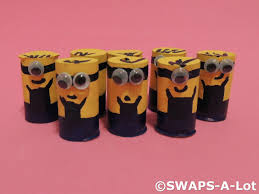 mini minions scout swaps kids craft kit makes 25