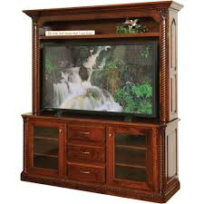 Joshua Creek Furniture by Home Entertainment Amish Furniture Factory Consoles U0026 Wall Units