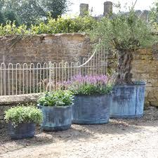 the circular copper garden planter small architectural heritage