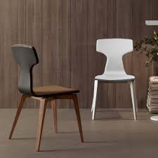 White Modern Dining Chairs Wooden Modern Dining Chairs Sorrentos Bistro Home