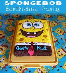 spongebob birthday cakes family spongebob birthday party