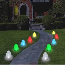 landscape path light led christmas pathway lights lizardmedia co