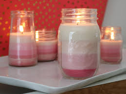 Make Candles Learn How To Make Ombre Striped Candles Diy Network Blog Made