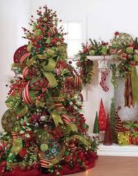 elegant christmas tree decorating ideas with ribbon